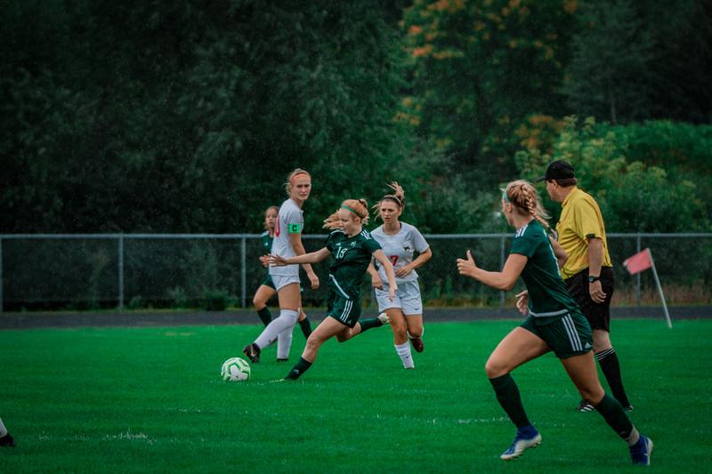 Holy Family Girls Varsity Soccer vs. Shakopee, 9/21/19: Katie Anseth '22 (19)