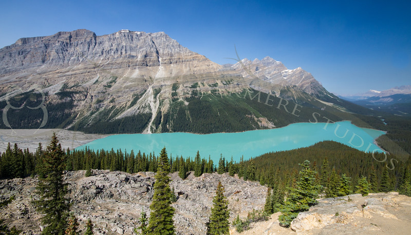 Along the Icefields Parkway