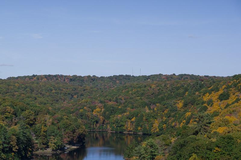 Western Pennsyvania Lake, Fall