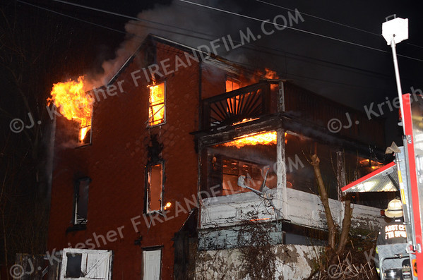 Schuylkill County - Butler Twp. - Dwelling Fire - 3/6/2013