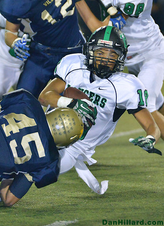 TOHS Football vs West Ranch 09-20-13
