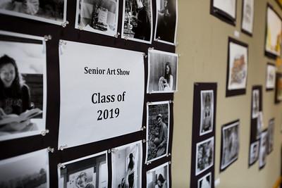 Senior Art Show (May 17, 2019)