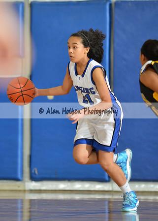 Girls JV Basketball Waverly at Lansing Catholic