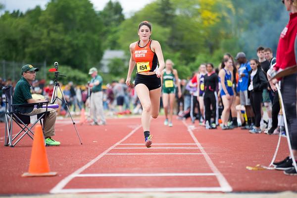 Natalie Marshall -- 2017 Mass State Track Championships