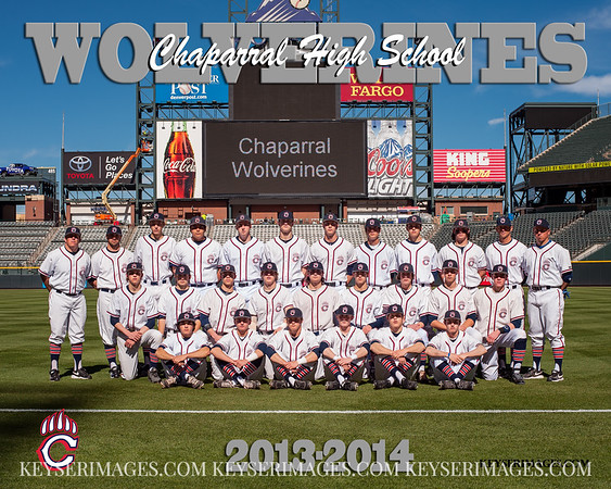 2013-14 Chaparral Baseball