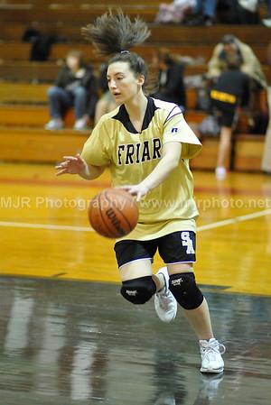 ST. Johns vs St. Anthony's Girls Varsity Basketball 1-25-08