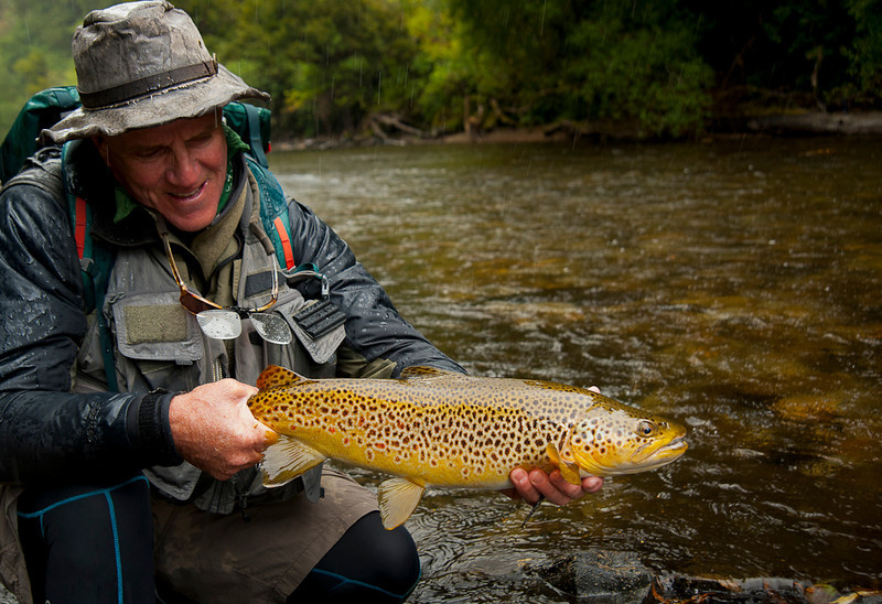 Scott Murray with a beautiful buttery brown