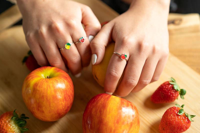 Lifestyle Photography   Fruit and Animal Rings Jan. 2021