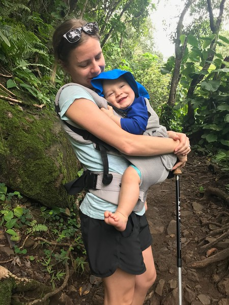 Kjirsten & Leif on the Kalalau Trail