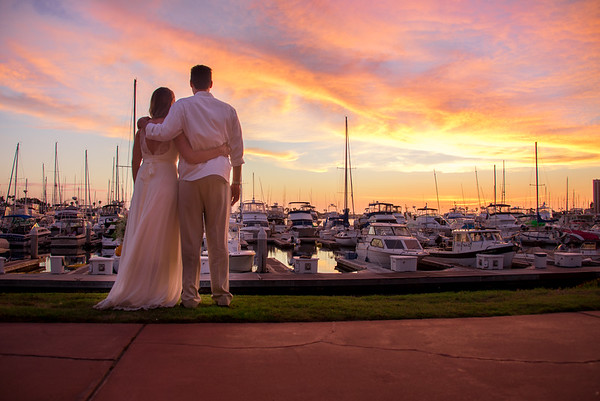 Davis  Marina Village Mission Bay 92109 Wedding - San Diego Wedding Photographer