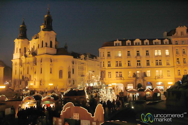 Christmas Market at Old Town Square - Prague, Czech Republic