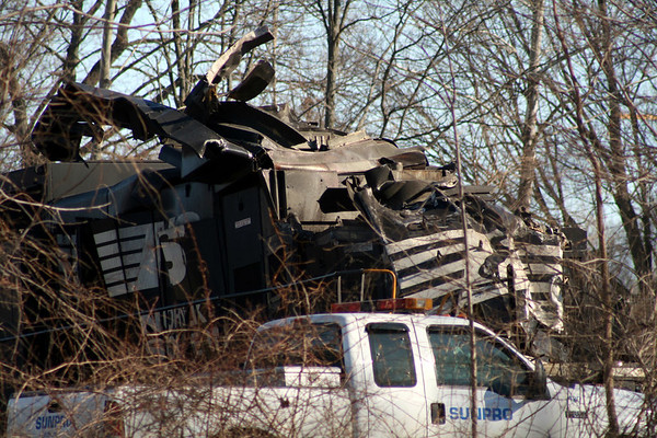 Train Wreck Clean-up Feb 2007