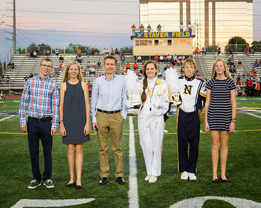 NHS Band Senior Night 10-9-2015
