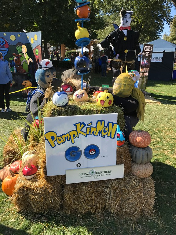 Scarecrowfest 2016 Pumpkinmon