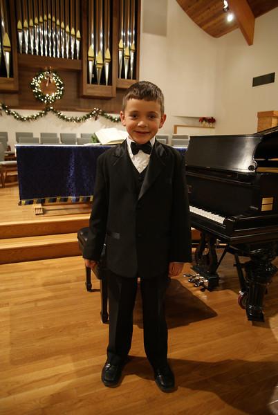 Aidan's First Piano Recital December 2011