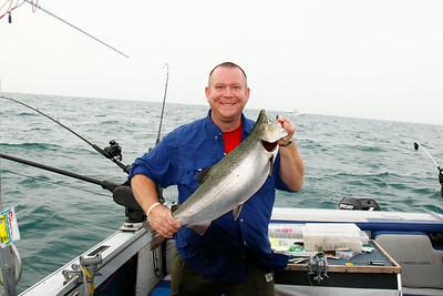 2011 September - Lake Ontario Fishing Trip