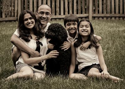 Namitha's family