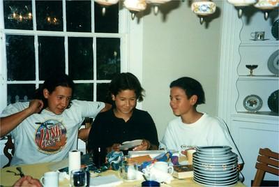 Daniel, David & Paul