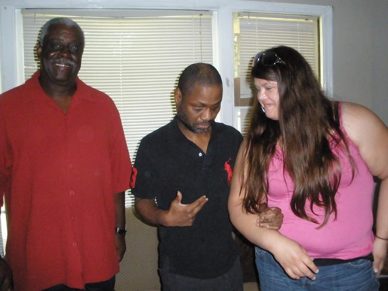 2010 06-22  L-R: Calvin Stallings, Guardian Maike McCarthy, and Advocate Rachel Hiles.   gb