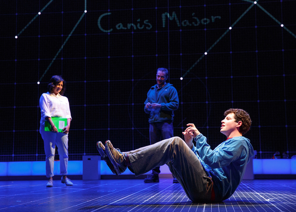". Steven Hoggett earned a Tony Award nomination for his choreography of ""The Curious Incident of the Dog in the Night-Time,\"" even though it\'s a play, not a musical. The show is on stage at Playhouse Square through April 9. For more information, visit playhousesquare.org/events/detail/curious-incident. (Submitted)"