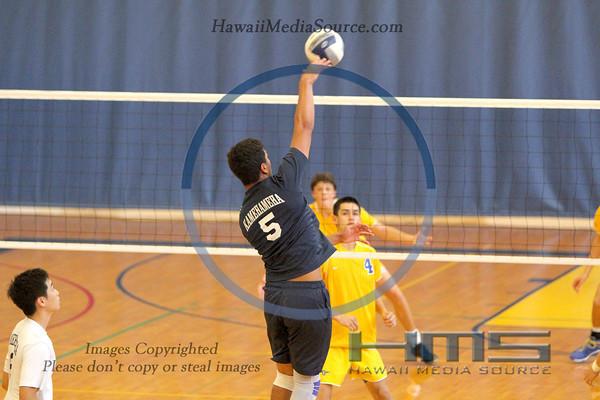 Kamehameha Boys Volleyball - Pun 4-1-14
