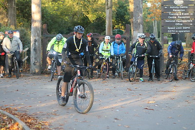 Diamond DofE Cycle Ride (November 2016)