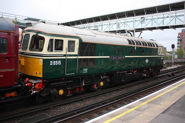 LU Diesel Special to Quainton Road, 29th April 2018