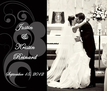 Kristin & Justin13x11 Wedding Album