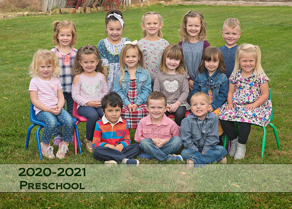 Homedale Preschool Fall 2020