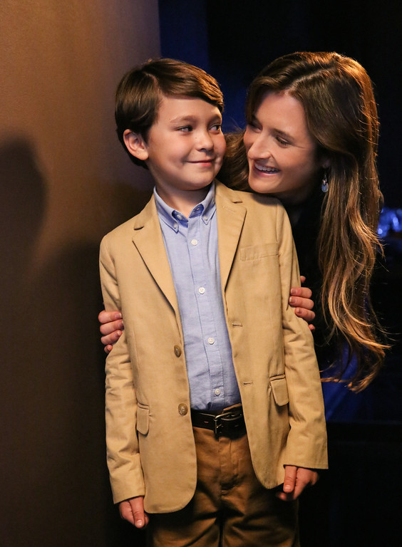 . (L-R) Pierce Gagnon as Ethan Woods and Grace Gummer as Julie Gelineau Photo: Robert Voets/CBS ©2014 CBS Broadcasting, Inc. All Rights Reserved