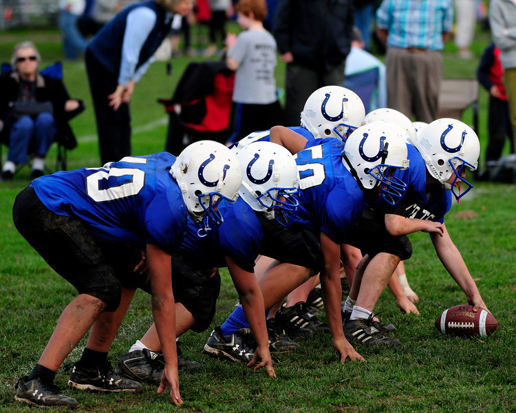 Pee Wees - Playoffs - Round 2 - Colts v. 49ers