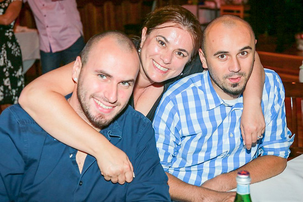 Time to say goodbye. Celebrating Razvan's upcoming year long vacation - August 2, 2014