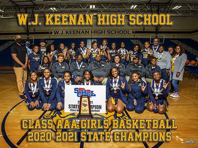keenan girls basketball championship