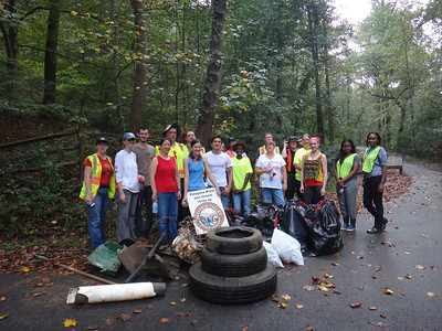 9.12.13 Patapsco River Cleanup in Orange Grove With Structural Employees & other PHG Friends