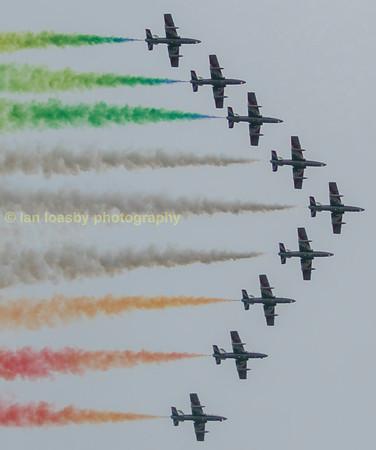 Aerobatic display teams
