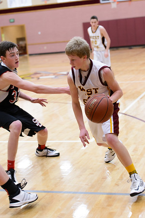 WSSH vs. Soda Springs Boys Baskeball 2014