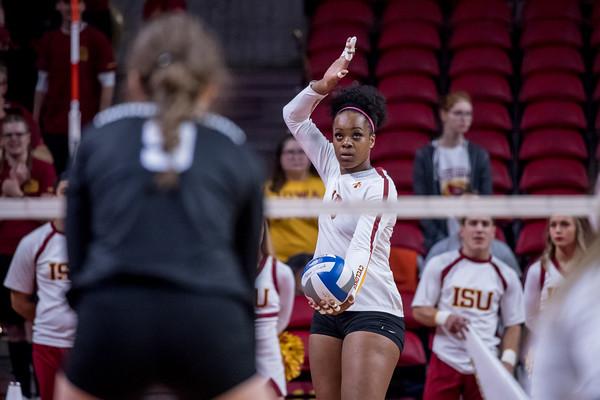 ISU Volleyball vs TCU 10/13/18