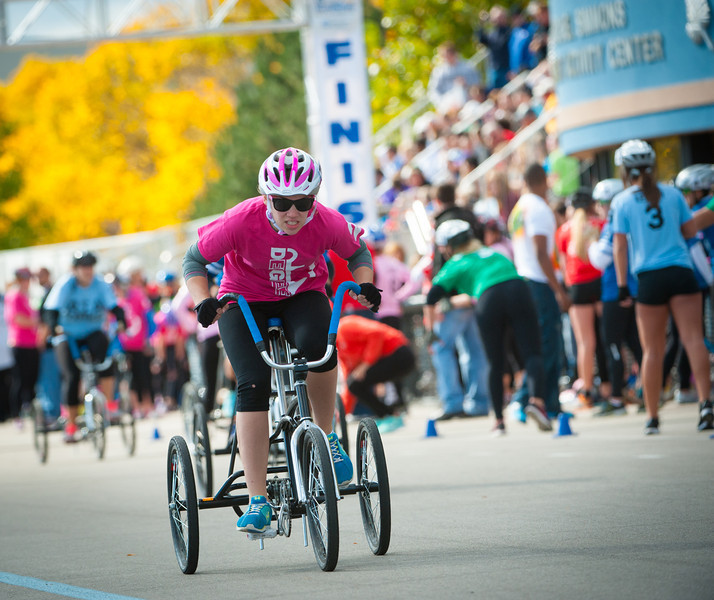 Trike Race for homecoming 2012