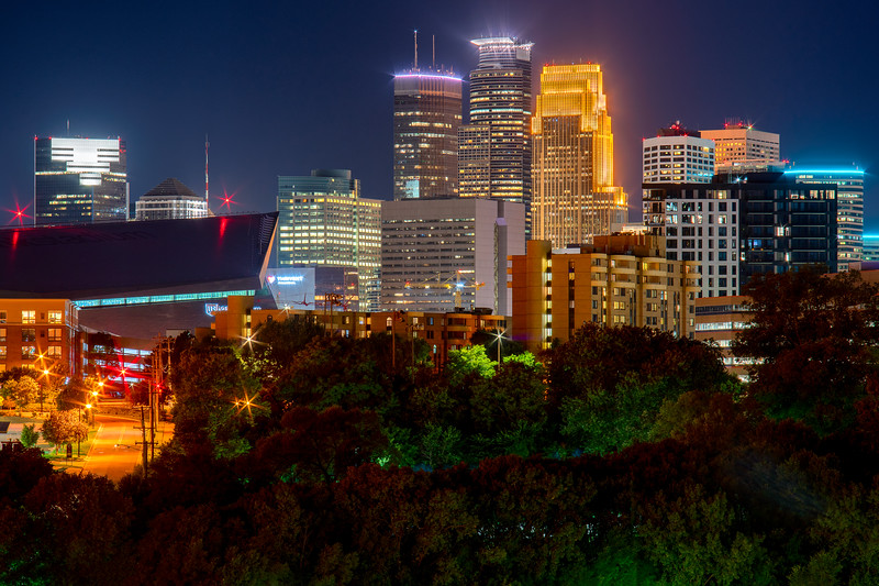 Minneapolis from the East.