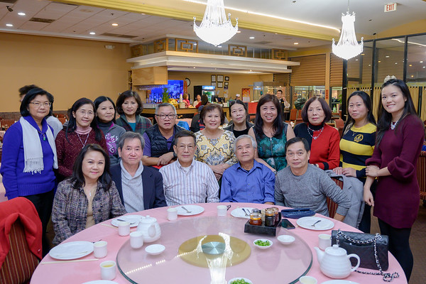 Christmas Dinner with Thay Dinh 2018