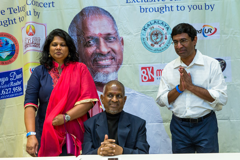 Padma Bhushan Maestro Ilaiyaraaja & K.S. Chitra - Meet & Greet
