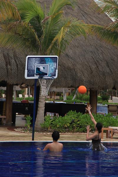 Wodną koszykówkę też mają