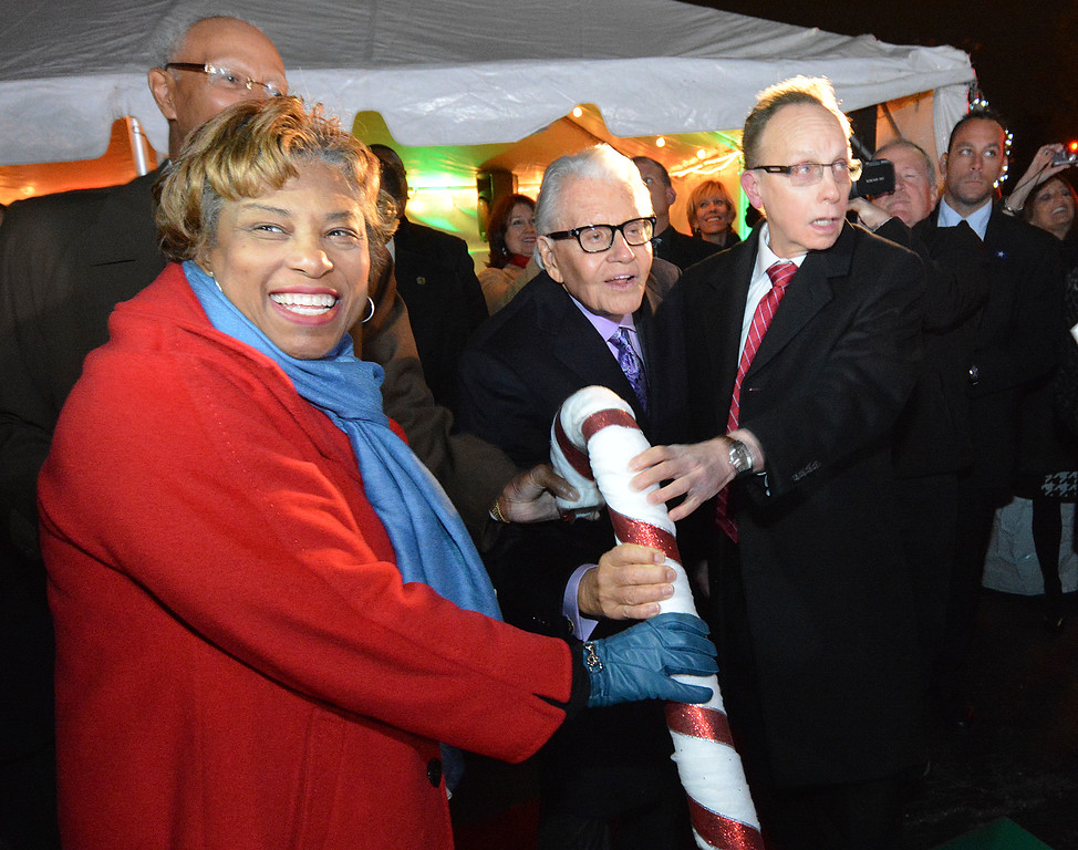 . Turning on the Winter Wonderland holiday display at Art Van Furniture\'s headquarters in Warren became a tradition for community leaders and members of the general public.