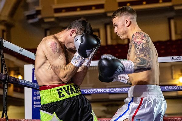 Cole Johnson vs Dean Evans