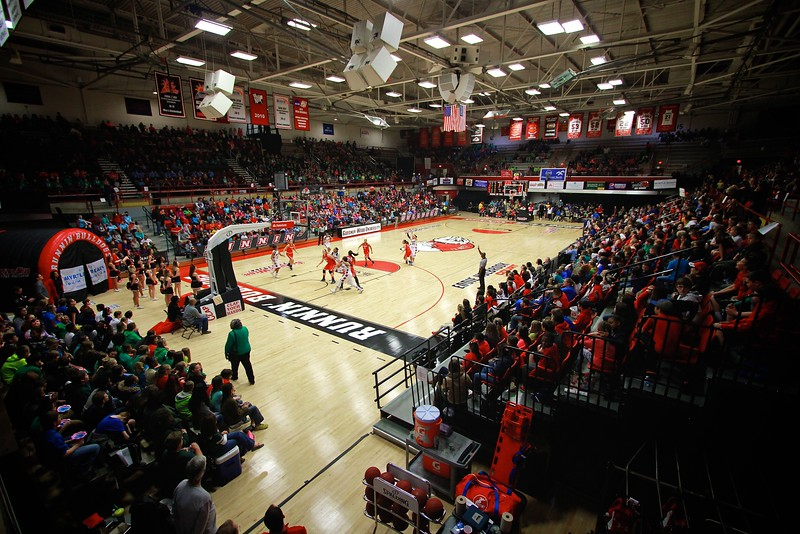 Basketball vs Liberty, February 5, 2015.