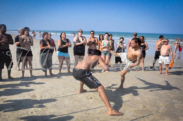 Capoeira Guerreiros at Daytona Beach