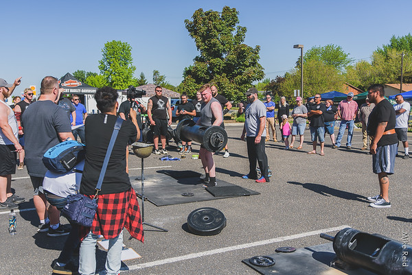 Strongman at Berserker, May 2019