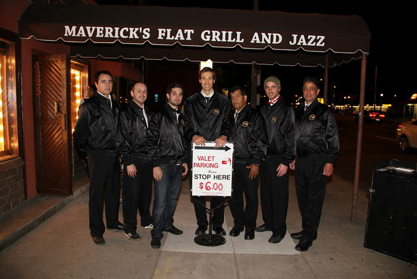 Maverick's Flat - Birthday Party for Steve Bradford and Ron Turner - 1-15-2011