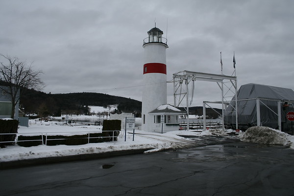 COOPERSTOWN MARINA LIGHTHOUSE