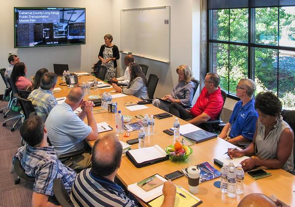 2018 June - Cabarrus County Long Range Transit Plan Steering Committee Kickoff Meeting